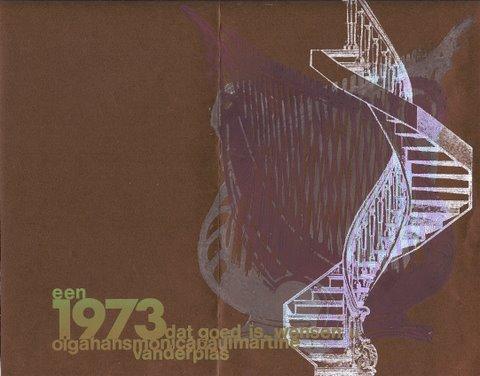 Nieuwjaar 1973 voorzijde